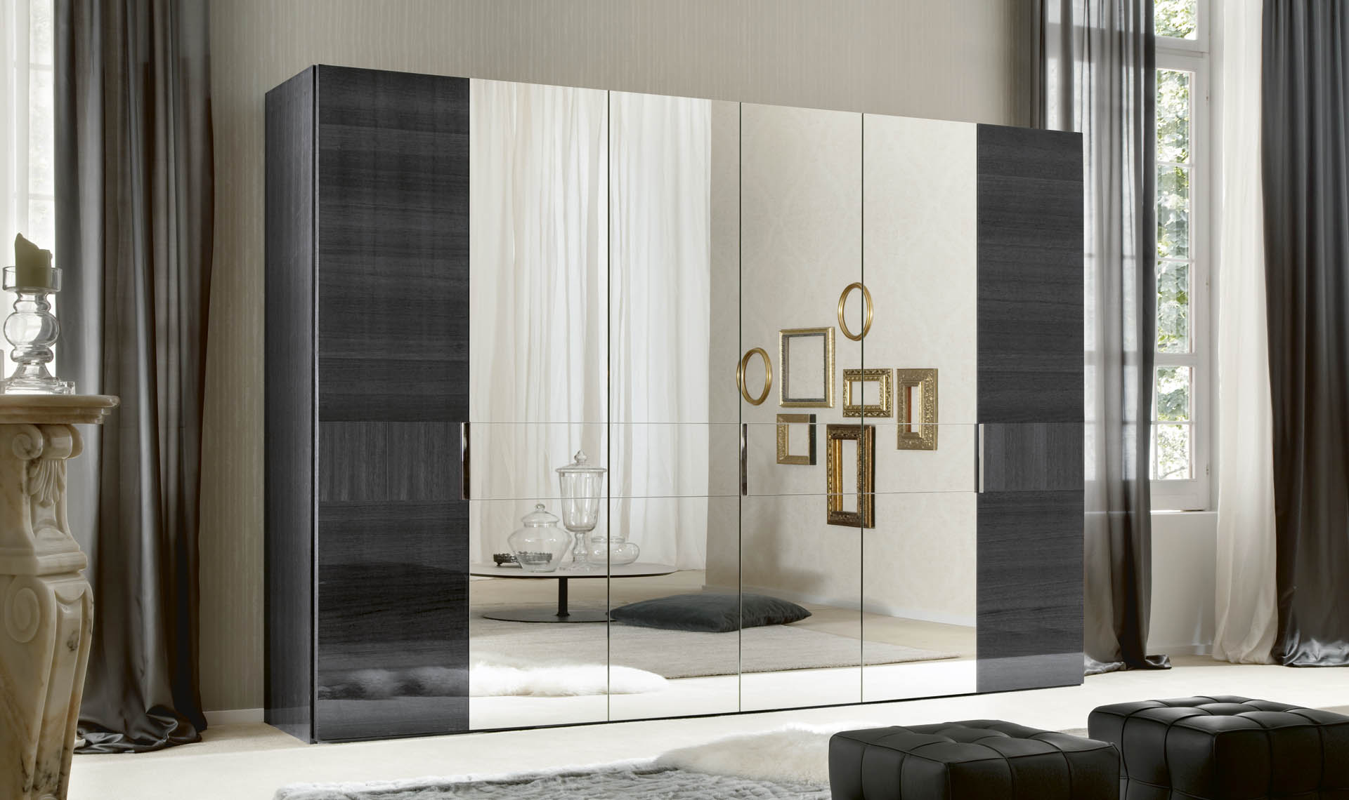 Montecarlo Bedroom 6/D Swinging Wardrobe