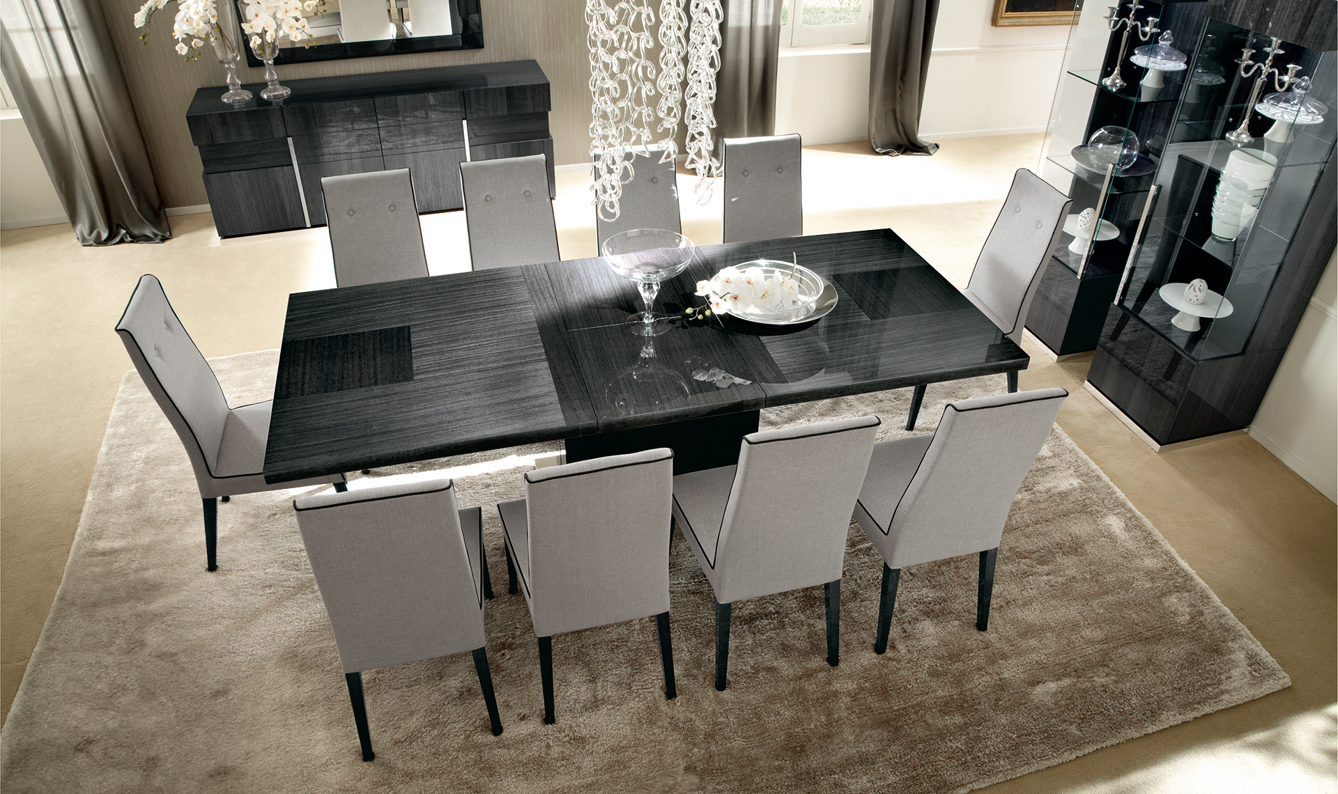 Montecarlo Dining Room Set 2 overview 1