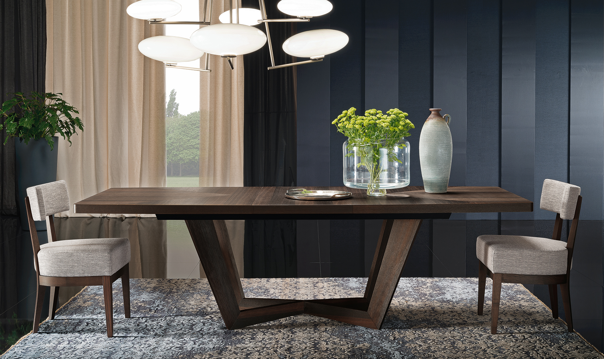 Accademia Dining Table and chairs