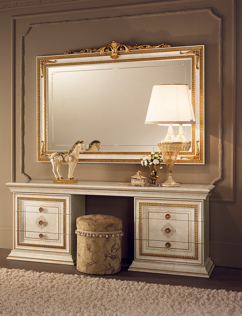 Leonardo Bedroom dressing table pouf