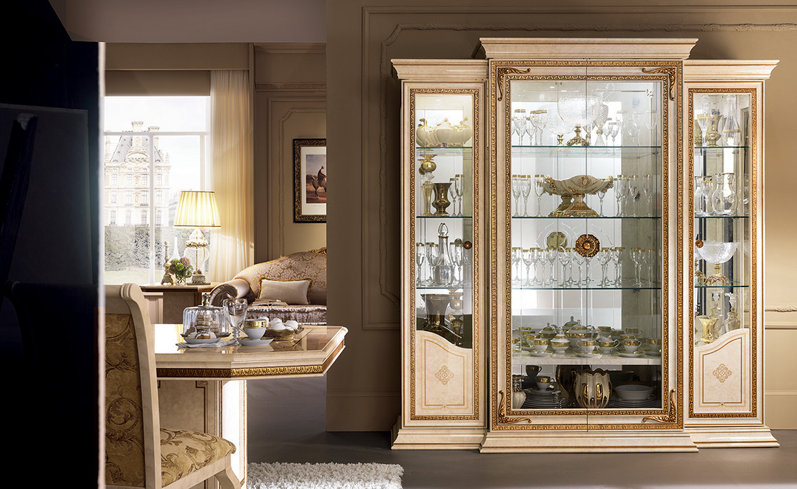 Leonardo Dining room four doors cabinet