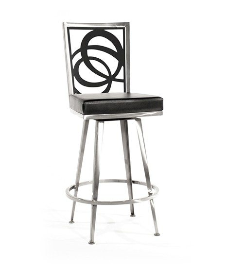 Luca Swivel Barstool, Solo Overview
