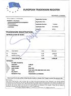 Spookfactuur European Trademark Register
