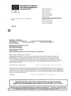 Spookfactuur International Trademark and Patent Registration (ITPR)