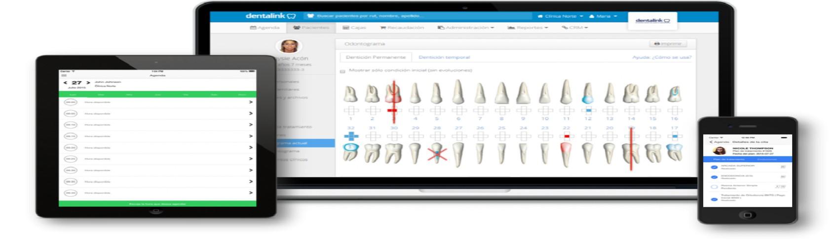 Dentalink, software para clínicas dentales