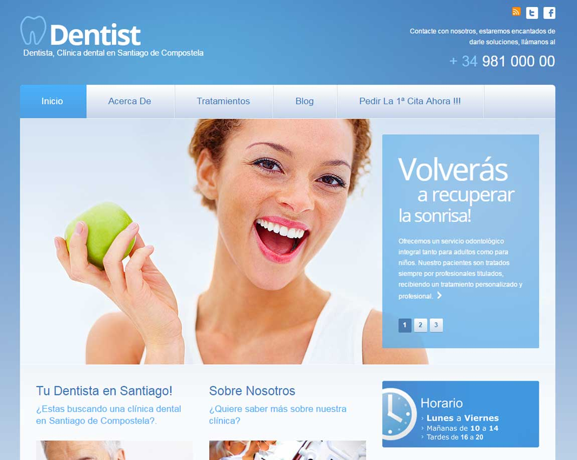 marketing dental web