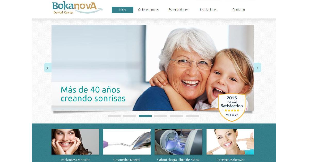 pagina web clinica dental