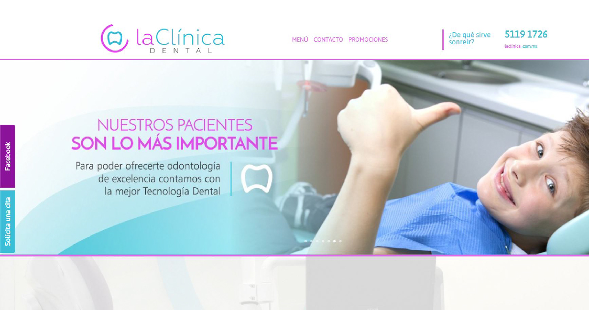 página web odontologia