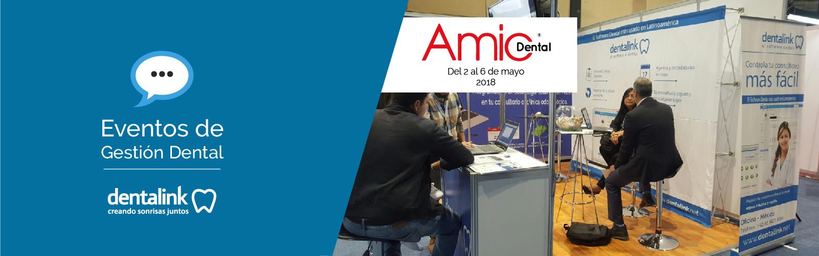 Dentalink dice presente en AMIC Dental México 2018