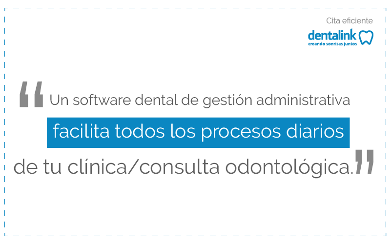 software de admisnitracion y gestion dental