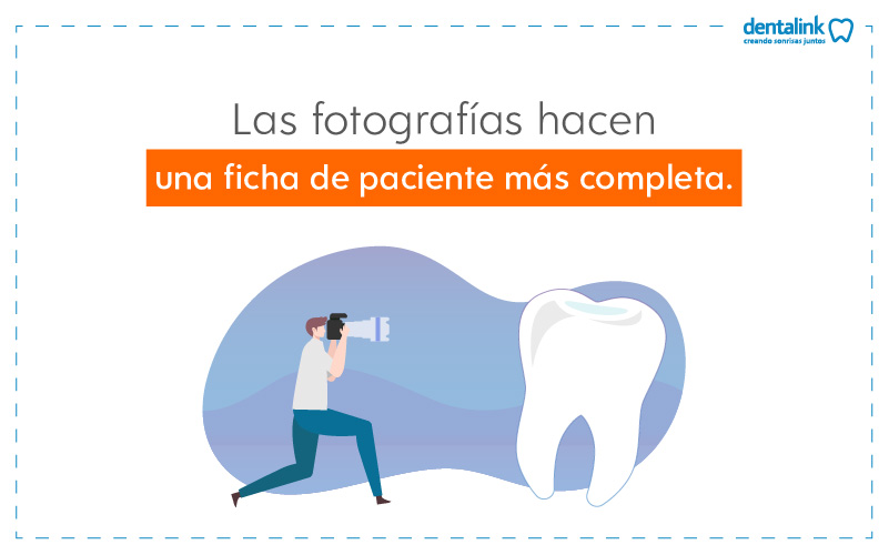 fotografia y la historia dental