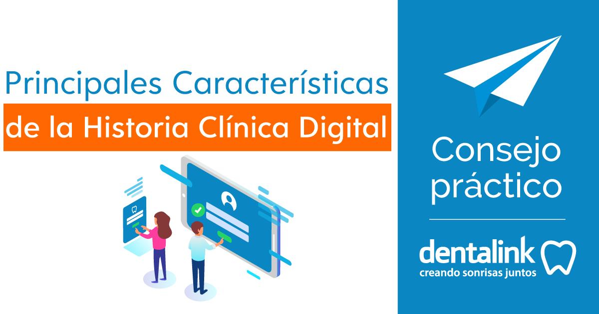 ᐅ Dentalink |Principales características de la Historia clínica dental