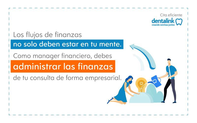 gestionar finanzas consulta dental software odontologia