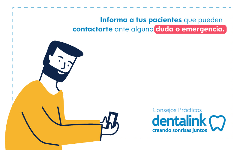 educar sobre emergencia dental