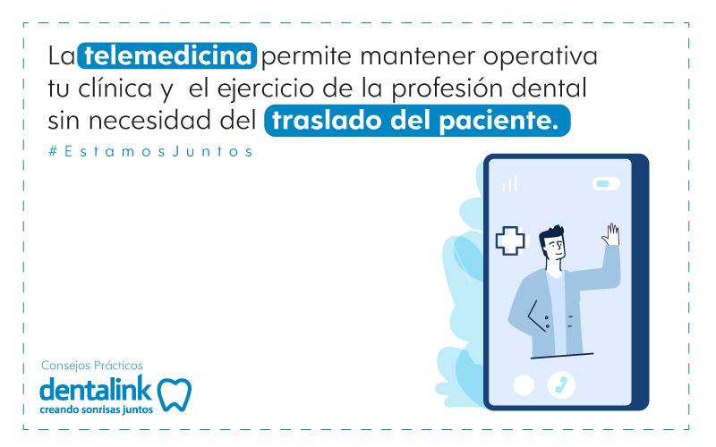 telemedicina clinica dental odontologia