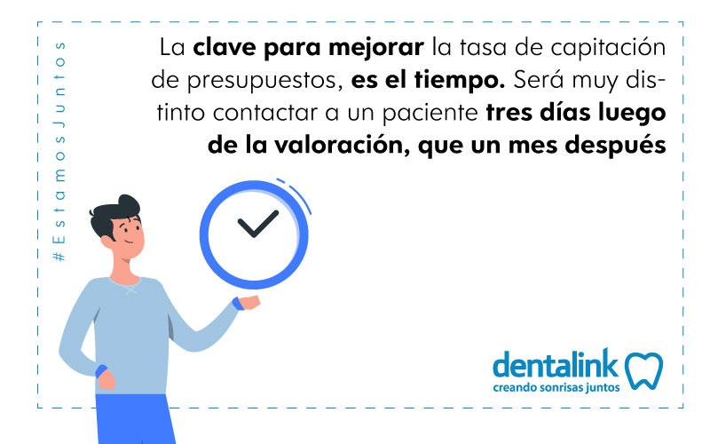 protocolo seguimiento presupuesto paciente clinica dental