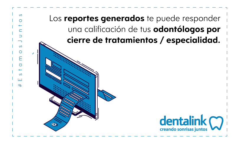 reportes de gestion consulta dental