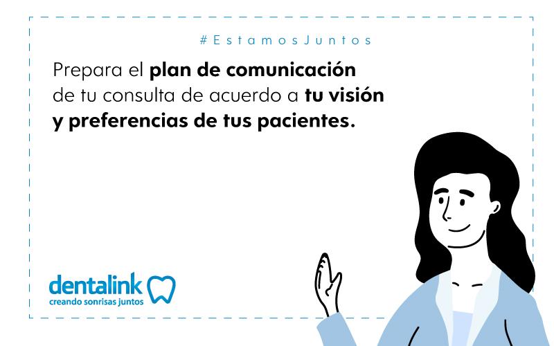 plan de comunicacion consulta dental