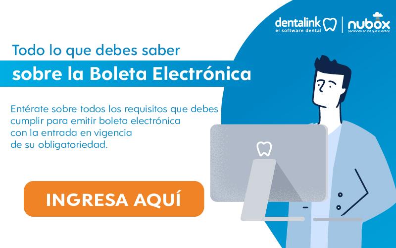 boleta electronica odontologo