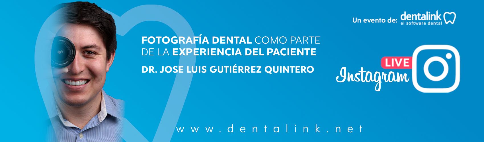 Instagram Live: La Fotografía Dental como parte de la Experiencia del Paciente