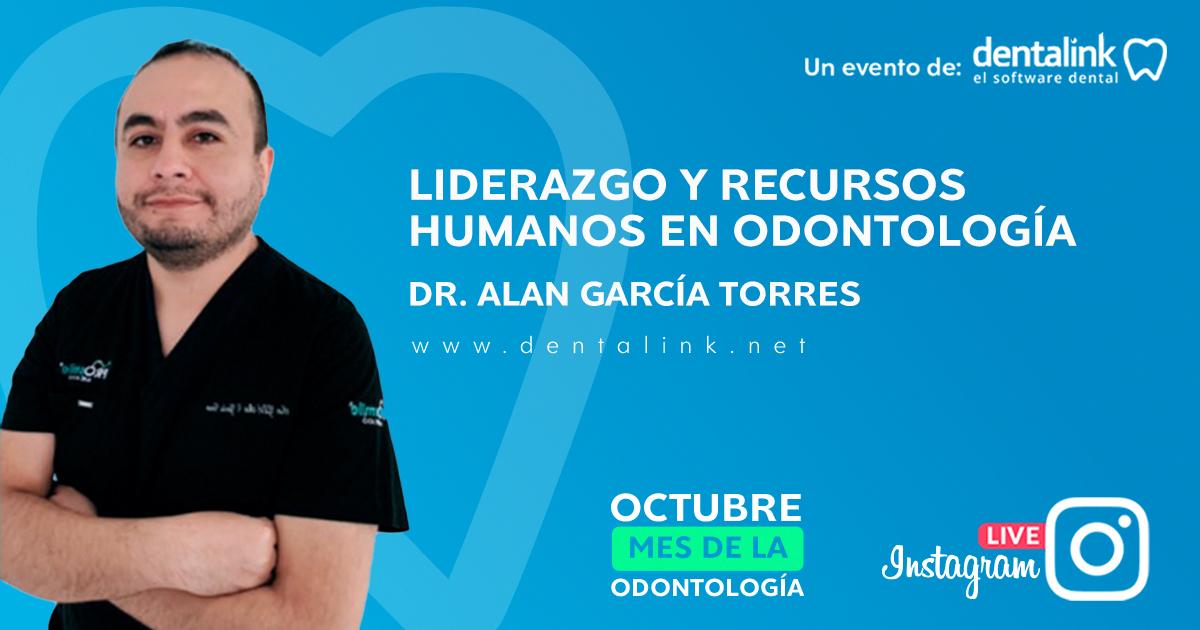 INSTAGRAM LIVE: Liderazgo y gestión de recursos humanos en Odontología