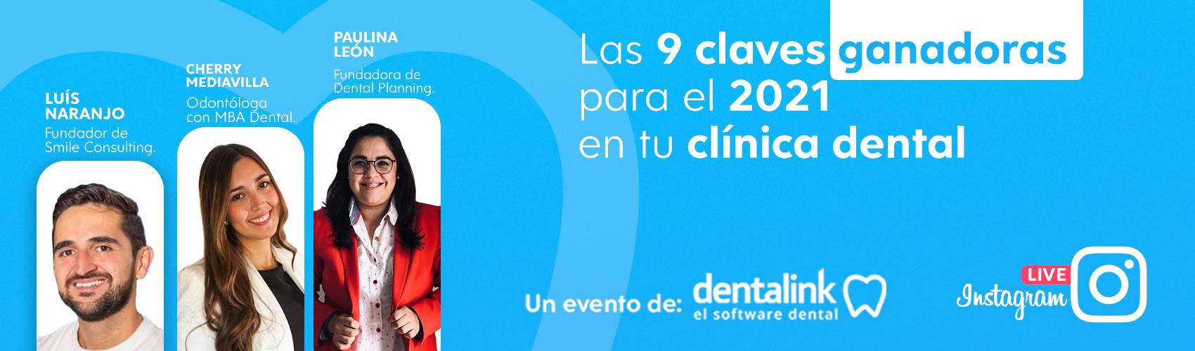 Instagram Live: Las 9 claves ganadoras para el 2021 en tu clínica dental