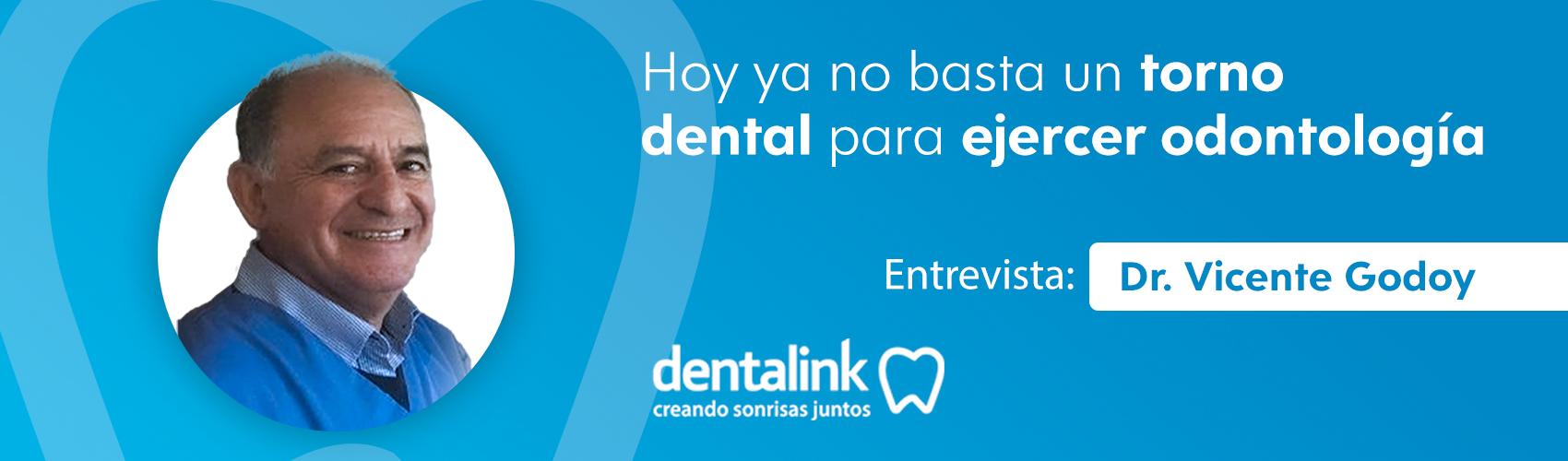 Entrevista al Dr. Vicente Godoy - Conversamos sobre su visión actual de la odontología y la gestión.