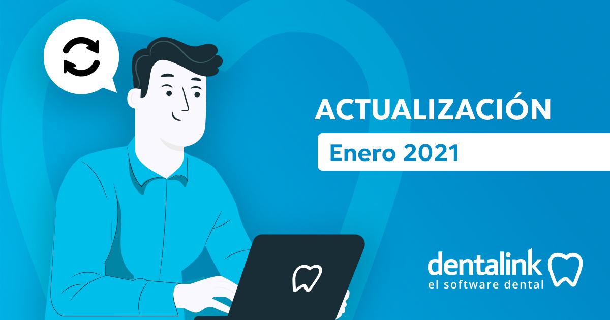 Nuevas funciones en la actualización 2021 - Dentalink