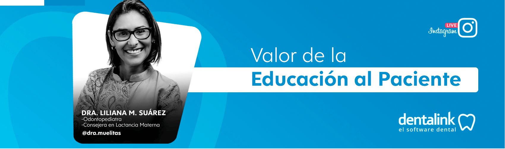Instagram Live: El Valor de la Educación al Paciente