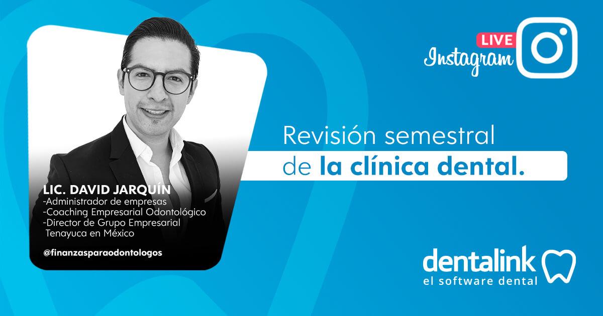Instagram Live: Evaluación semestral de la Clínica Dental