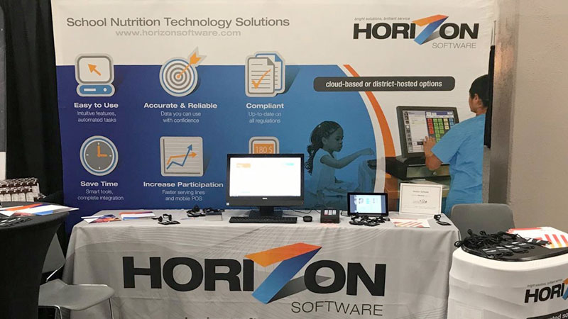 Horizon tradeshow booth