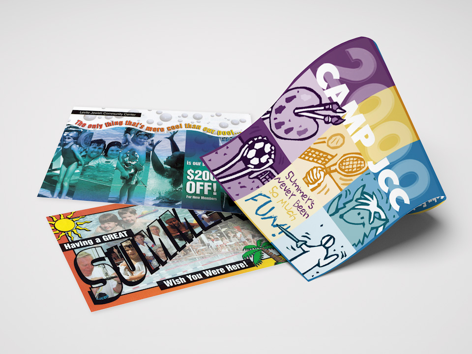 photo of LJCC mailers for summer camp