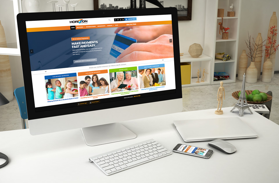 photo of website: Horizon Software