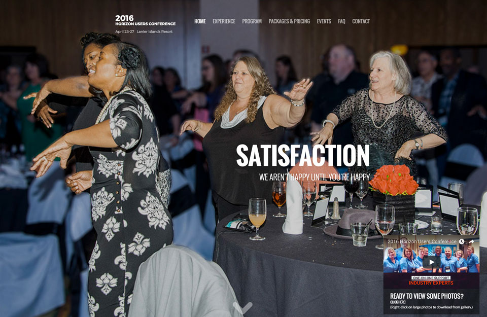 photo of website: Horizon UGC detail