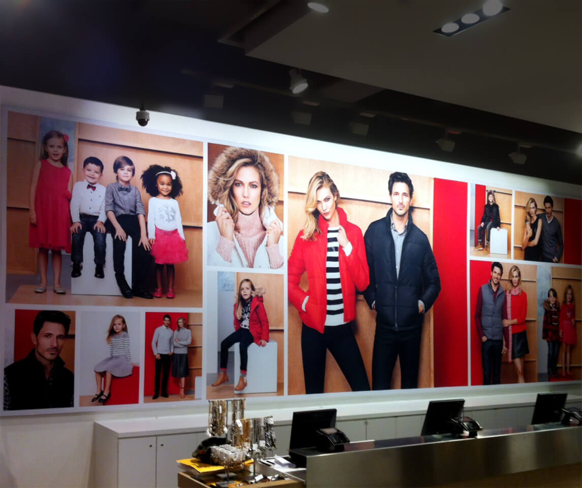 Photo of Joe Fresh Retail Signage