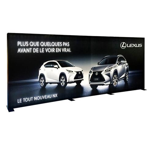 Photo of Lexus Fabric Wall