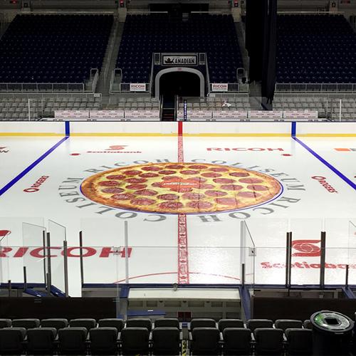 Photo of Pizza Pizza Skating Rink Mat