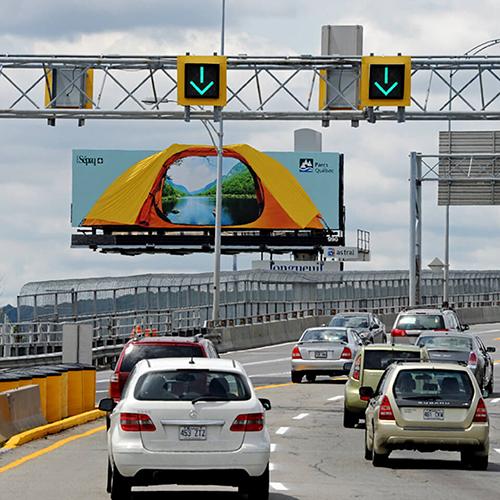 Photo of Quebec Tent Billboard