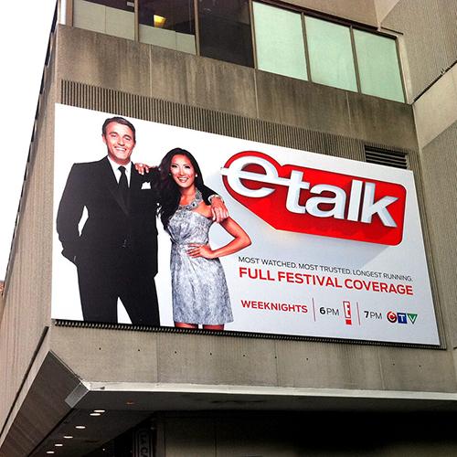 Photo of CTV eTalk Frameless Banner Frame