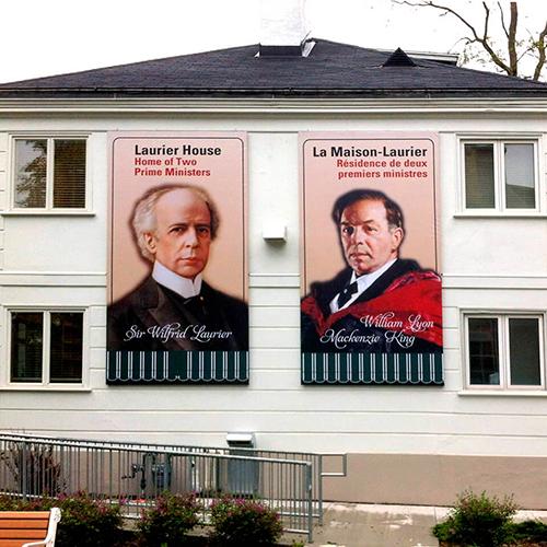 Photo of Laurier Frameless Banner Frame
