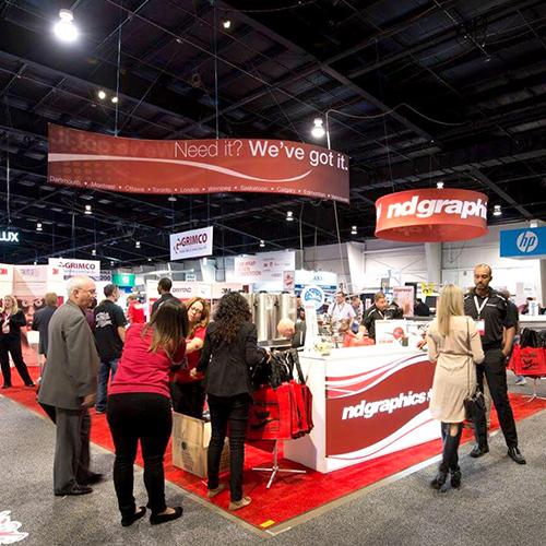 Photo of Trade Show Exhibit