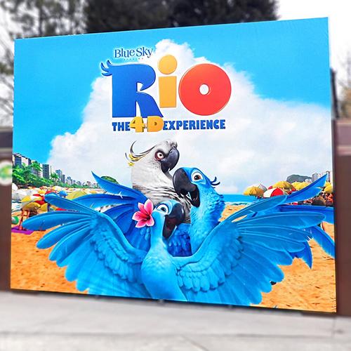 Photo of imex Rio Movie Billboard