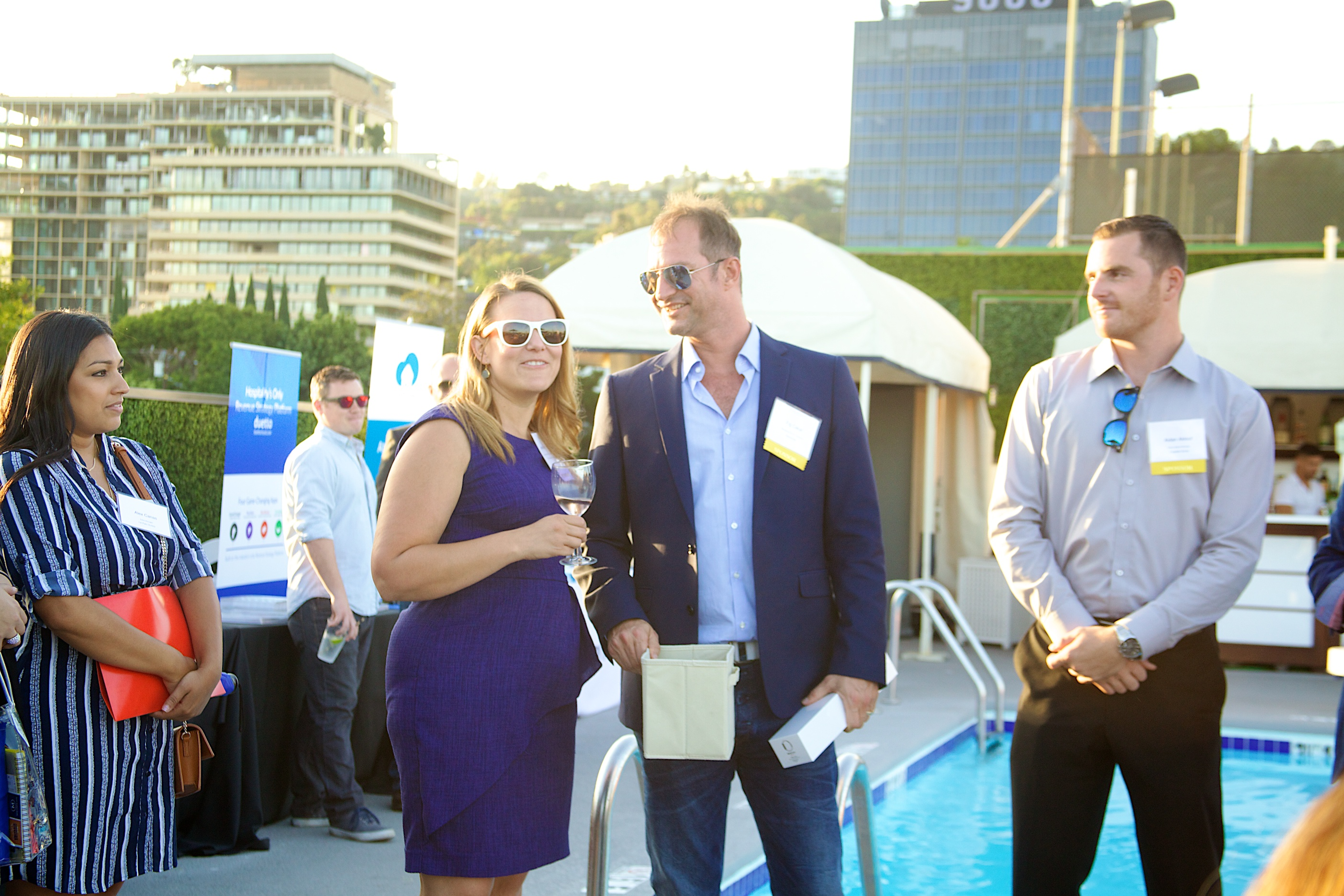 2017 Travel Industry Trade Show and Wine Reception at Montrose West Hollywood