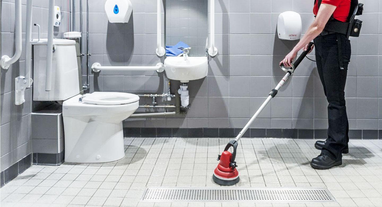 Limpieza de baños con EasyScrubber