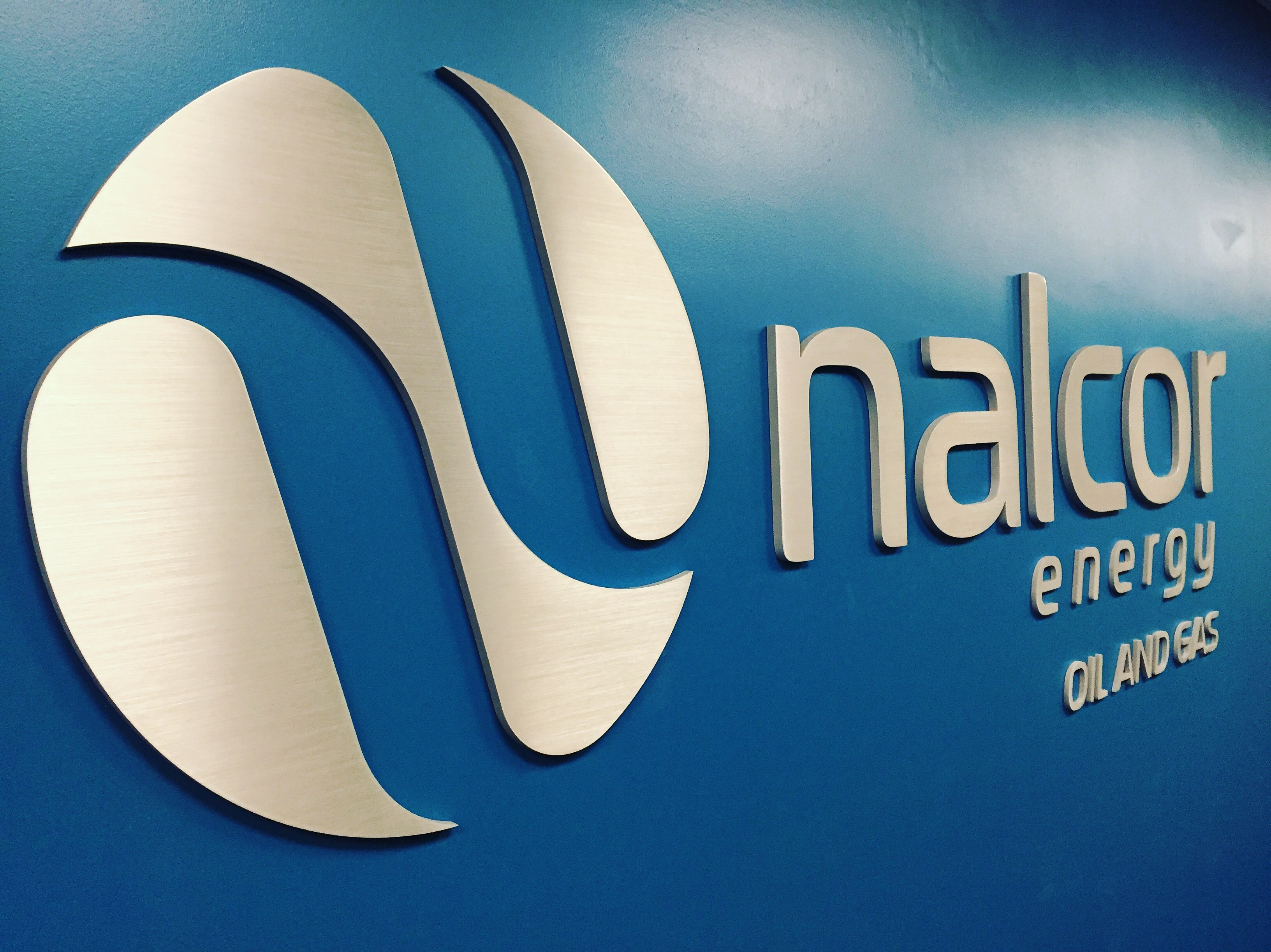 Nalcor shape cut letters