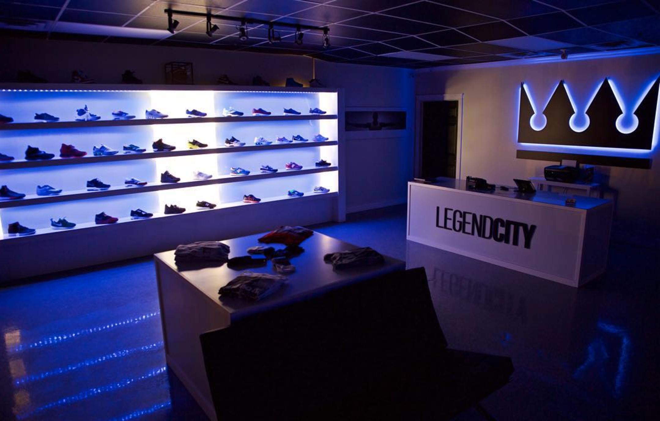 LegendCity interior signage