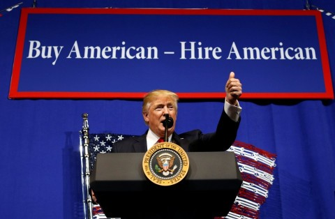 "New Executive Order Signed: ""Buy American, Hire American"""