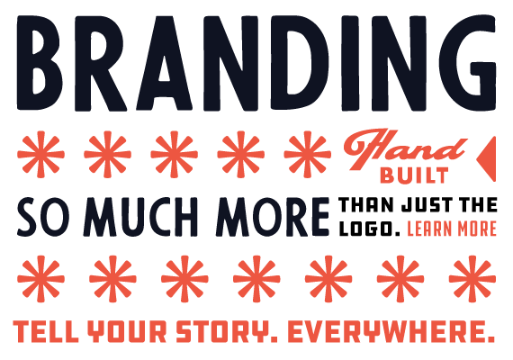 Branding. Tell Your Story. Everywhere.