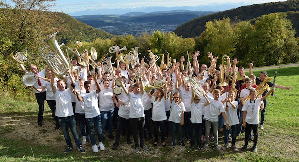 Gruppenfoto JMA-Lager-Teilnehmer 2019