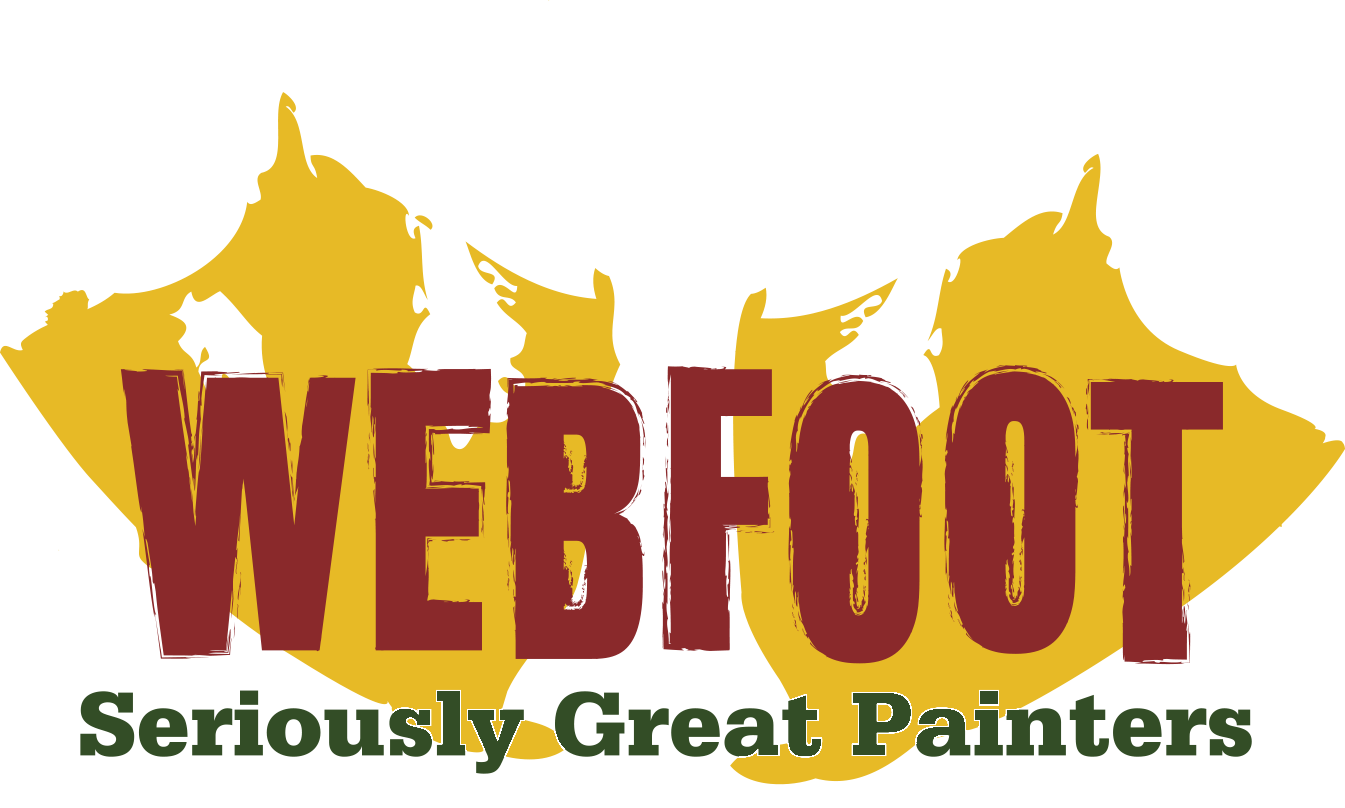 Webfoot Painting, Bend Oregon